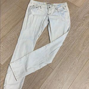 Garage super skinny distressed jeans